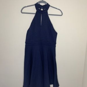 Altar'd State Navy halter dress